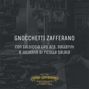Gnocchetti Zafferano