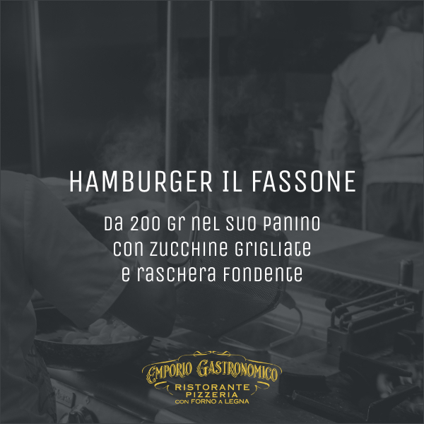 Hamburger il fassone