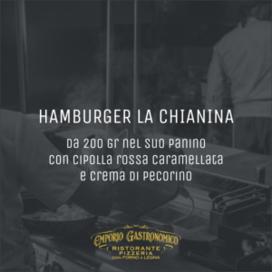 Hamburger la chianina