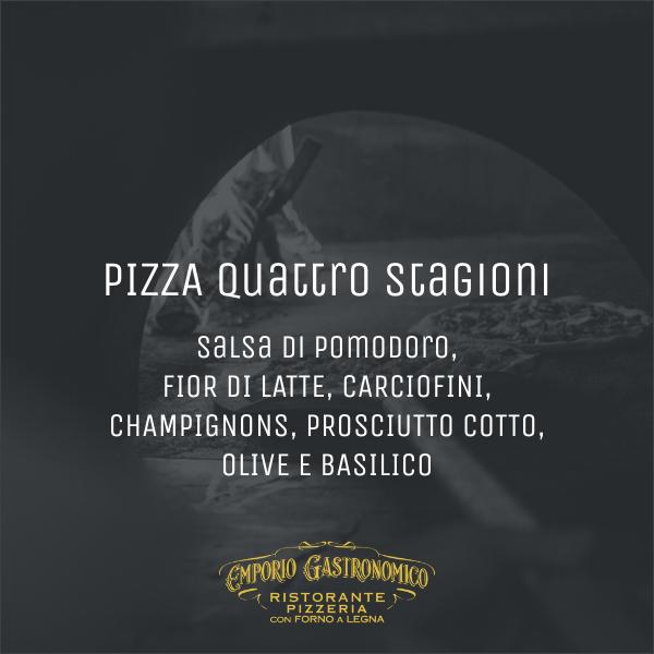Pizza Quattro Stagioni