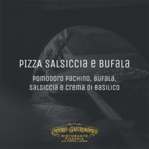 Pizza Salsiccia e Bufala