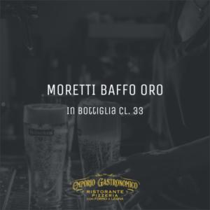 Birra Moretti Baffo Oro