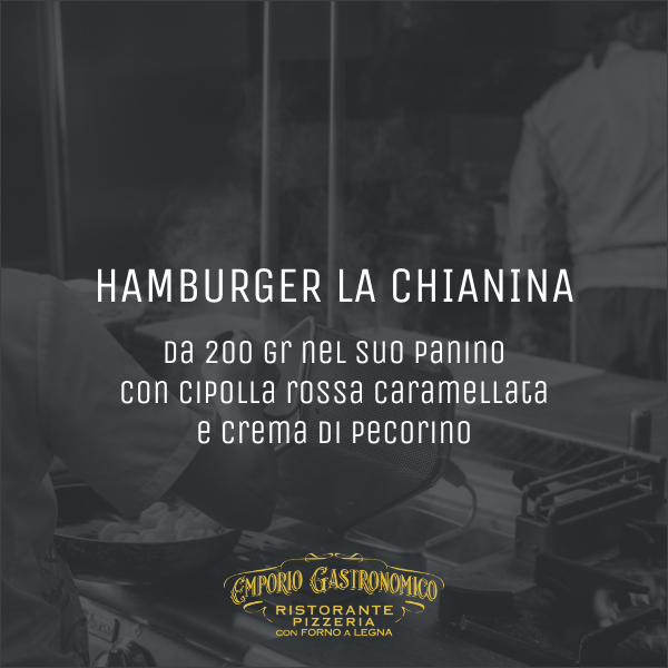 Hamburger la chianina